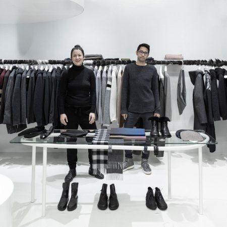 Kathi & Bagas im Shop IBK